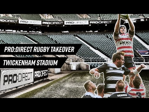 Pro:Direct Rugby Takeover Twickenham Rugby Stadium