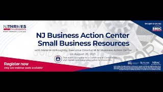 NJTT#017: NJ Business Action Center Small Business Resources