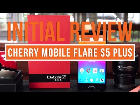 Cherry Mobile Flare S5 Plus Initial Review