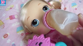 BABY ALIVE Go Bye Bye Dolls Compilation: Summer finds Monster+Dolls Race+Feeding+Changing+Sleepover