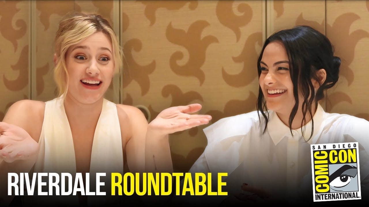 Lili Reinhart & Camila Mendes Riverdale Roundtable Interview at Comic Con 2018