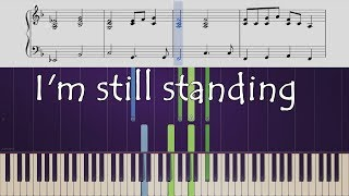 "How to play the piano part of ""I'm Still Standing"" by Elton John"
