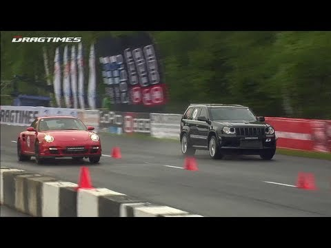 Jeep Supercharged (1100 HP) Porsche Switzer/Proto R911 (950 HP)