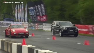 Jeep Supercharged (1100 HP) vs Porsche Switzer/Proto R911 (950 HP)