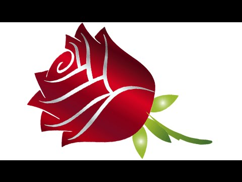 HOW TO DRAW A FLOWER ROSE Step By For Beginners 2016 EASY