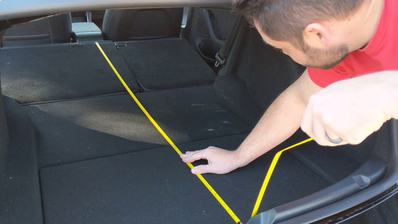 Model 3 Trunk Dimensions Youtube