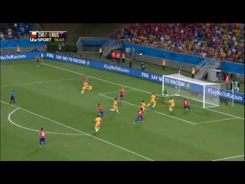 Chile Australia 2014 World Cup Full Game ITV Socceroos