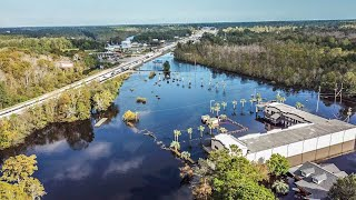 Update Conway SC Flooding OCT 1 2018 Drone Footage