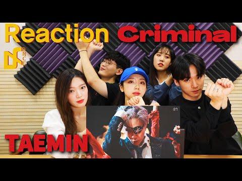 TAEMIN(태민) - Criminal MV Reaction | Korean dancer reaction | DNCE