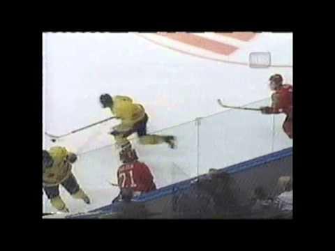 Daniel Sedin Goal On Luongo 1998 WJCs