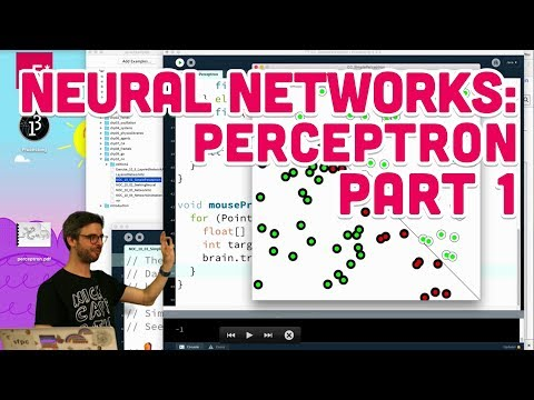 10.2: Neural Networks: Perceptron Part 1 - The Nature of Cod