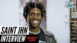 Saint Jhn on Jay-Z Changing The Game, Rihanna, Creative Process, Manifesting Things Into Reality
