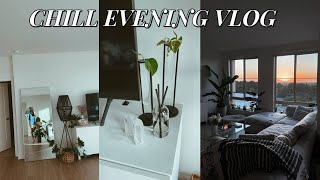 CHILL VLOG: new tarot decks, world market home decor haul, furniture updates + apt organization