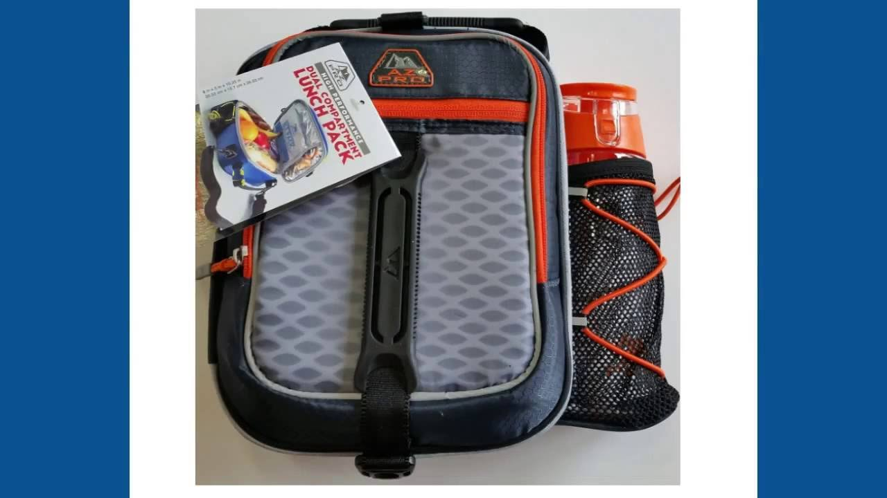 a4550845bc58 Back to School Lunch Box with Water Bottle Carrier Kids Lunch