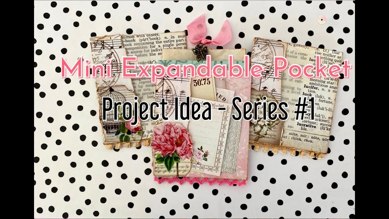 ✂️ Mini Expandable Pocket   My 4 Day Project Idea Series #1   Junk Journal, Happy Mail