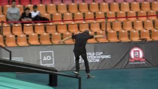 Миша Степанов  World Cup Skateboarding Moscow 2016 квалификация 20161015