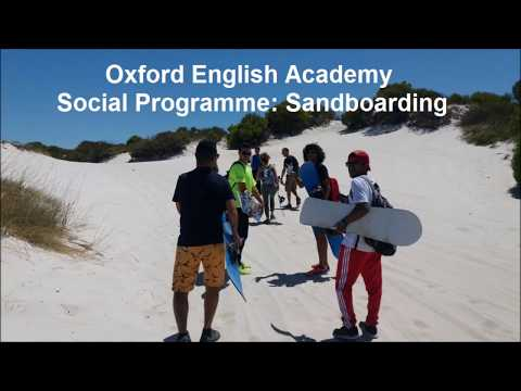 Oxford English Academy Learn English With Our Social Programme: Sandboarding