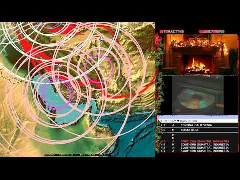 12/05/2017 -- MULTIPLE Earthquake Forecast hits! Japan , Sumatra, Oklahoma, Iran ALL DIRECTLY STRUCK - 동영상