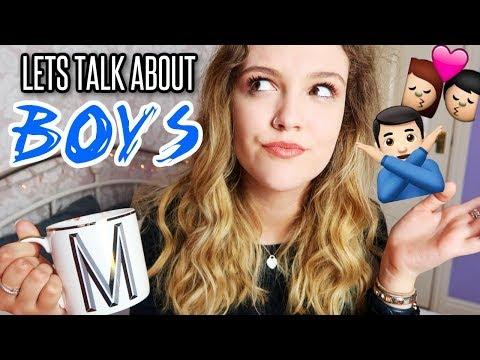 LETS TALK ABOUT BOYS - Q&A! First Dates, Ex Boyfriends & Telling Your Parents...