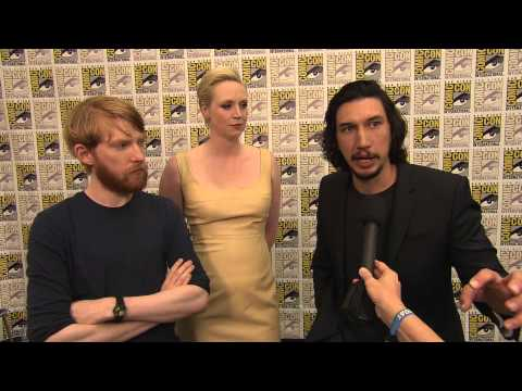 Star Wars: The Force Awakens Interviews - Domnhall Gleeson, Gwendoline Christie, and Adam Driver