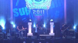"Tribute to R.J.DIO ""One Night in the City"" live cover at SUPERRALLY 2011"