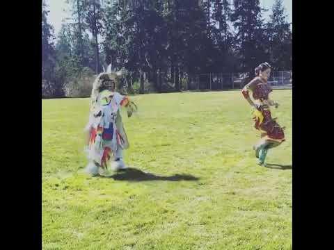 SDPB News: Wakiyan Cuny and Wicahpi Cook Dance for the Social Distance Powwow Facebook Group