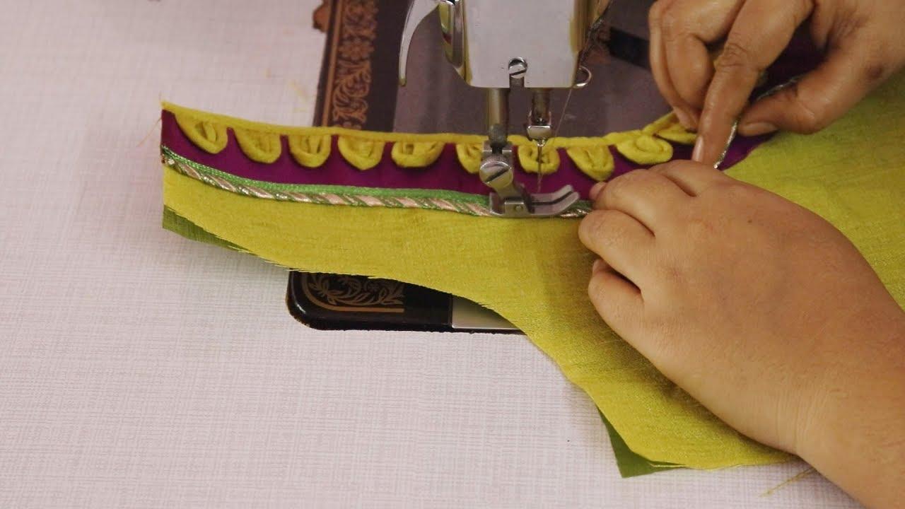 Paturi blouse design #1