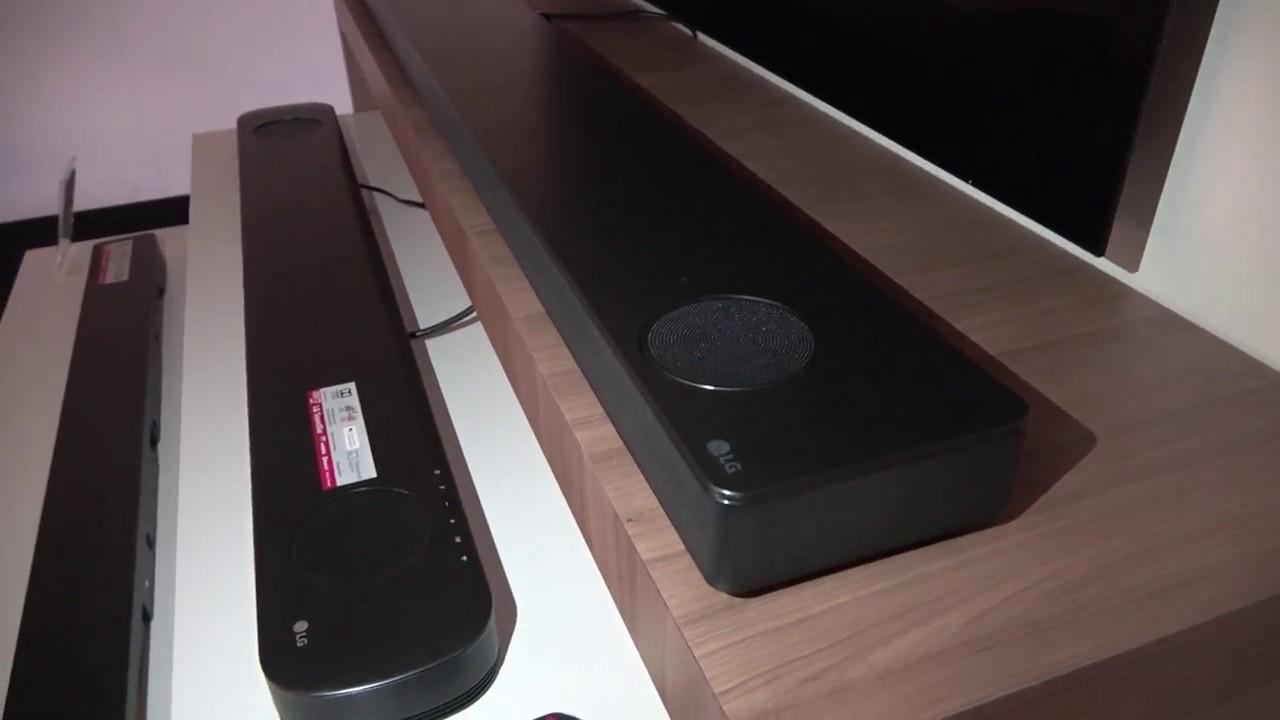 Dolby Atmos & Stereo Soundbars SK10Y / SK9Y / SK8 (LG Roadshows)
