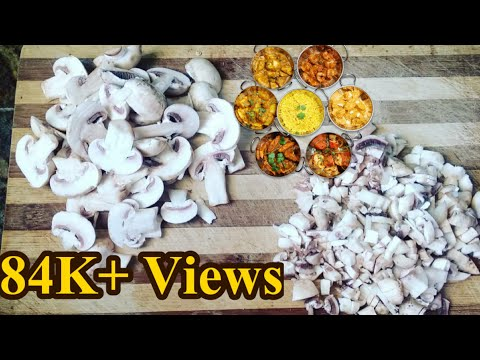 How to Clean Mushroom before Cooking,Cleaning and Cutting Mushrooms, Select Mushrooms