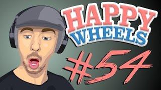 Happy Wheels - Part 54 | SPIKEFALL STEVE IS THE MAN!