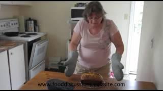 Little Lulu Cooking Rhubarb Bread Part 2