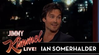 Ian Somerhalder on Vampire Diaries & Lost