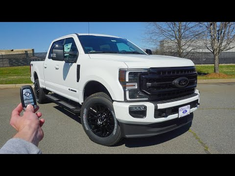 2020 Ford F-250 Super Duty Lariat: Start Up, Test Drive, Walkaround And Review
