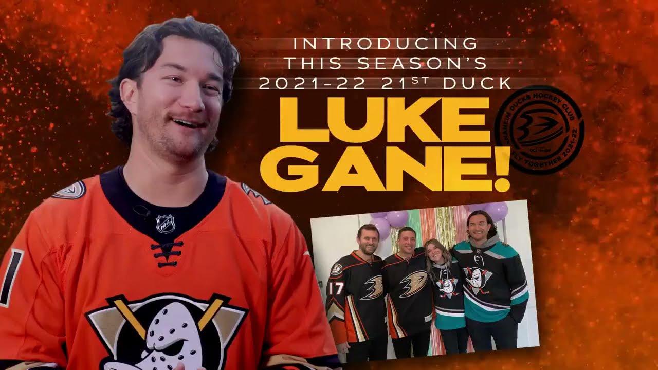 Anaheim Ducks 21st Duck Announcement