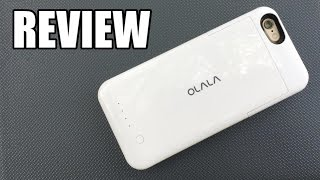 OLALA iPhone 6/6s Portable Battery Case Review