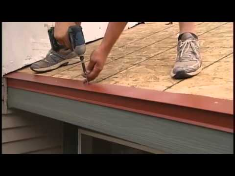 Edco Steel Roofing Installation Part 1 Youtube