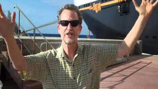 Ridley Pearson's Disney Cruise Experience