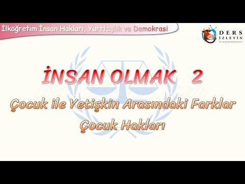 İNSAN OLMAK - 2