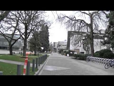 Walking in UBC 大学 (University of British Columbia) - Sightseeing in Vancouver BC Canada