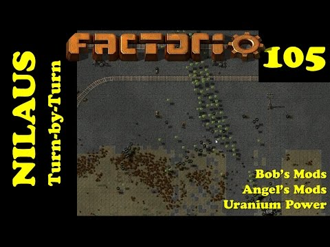 Lets Play Factorio S3E105 - Thermal Water and Lithium Chloride