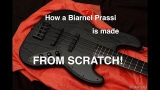 Biarnel Prassi: Making a bąss guitar from scratch.