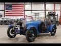 1925 Bugati Type 35 Blue