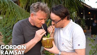 Gordon Ramsay Makes a Laos-Inspired Piña Colada