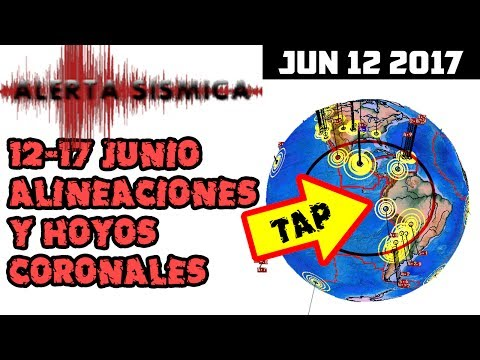 (((ALERTA SISMICA))) 12-17 JUN 2017   REPORTE SOLAR SISMICO Y VOLCANICO JUN 12 2017