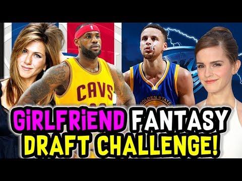 NBA FANTASY DRAFT CHALLENGE VS GIRLFRIEND! NBA 2K18 MY LEAGUE