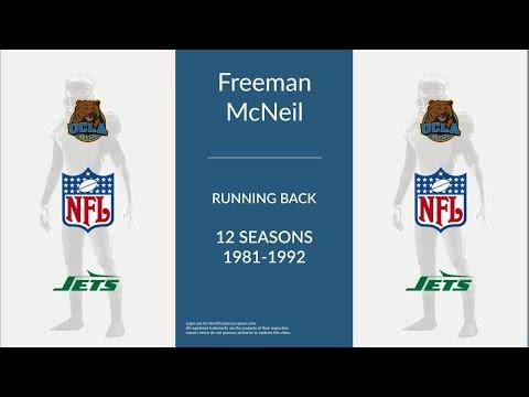 Freeman McNeil: Football Running Back