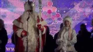 Открытие 9-ой рождественской ярмарки в Санкт-Петербурге 2014 год