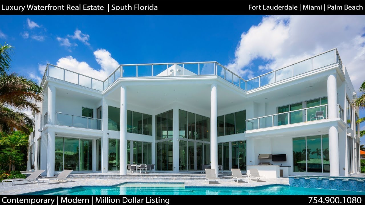 Luxury Waterfront Real Estate South Florida