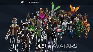 How to catch all Anthros EVENT-NEW AVATARS Roblox