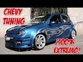 Chevy tuning 2002 ¡totalmente extremo!